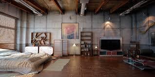 industrial studio loft apartments industrial loft 2 by denisvema