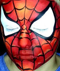 face painting paradise spiderman facepaintingparadise deviantart