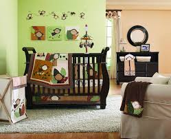 Monkey Decorations For Nursery Monkey Nursery Decorating Ideas With Carpet And Drawers Wall
