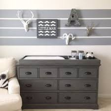 Nursery Dresser With Changing Table Davinci Autumn 4 Drawer Changer Dresser With Changing Tray Slate