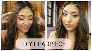 chain headpiece diy chain easy its halo
