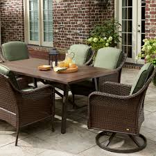 Patio Furniture 7 Piece Dining Set - la z boy outdoor dmdl 7pc madeline 7 piece dining set green