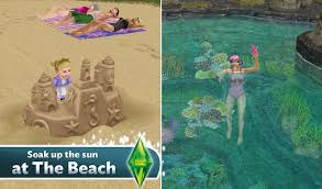 Sims Freeplay Beach House by The Sims Freeplay 5 8 0 Mod Unlimited Money Sims Games Android