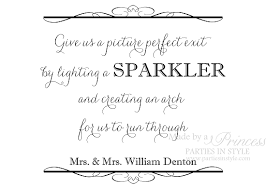 wedding signs template 26 images of sparkler send template eucotech