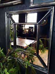 Mirrored Wall Panels Architectural Window Frame Mirrors