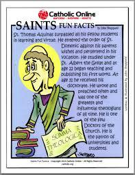 catholic shop online saints facts st aquinas aquinas saints and
