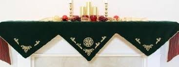 mantel scarves welcome to seasons and celebrations