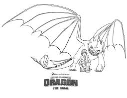 coloring pages night fury coloring