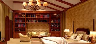 Mediterranean Bedroom Design by Spanish Bedroom Design With Mahogany Bookcase Download 3d House