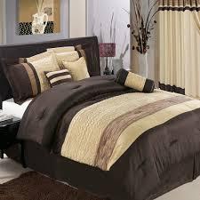 adorable bedroom with black tan bedding sets queen size comforter