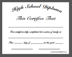 ged template homeschool high school diploma templates high school