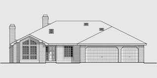 3 bedroom house plans one one house plans single level house plans 3 bedroom house