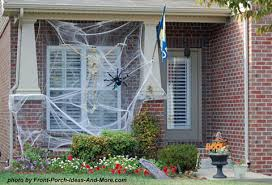 6 fall porch decor ideas diy scary halloween decorations outside