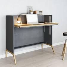 Schreibtisch Online Kaufen Nest Schreibtisch Anthrazit A050713 002 Online Kaufen Bei Woonio