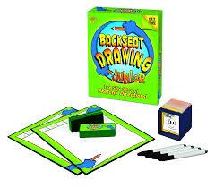 Drawing Games Amazon Com Backseat Drawing Jr Toys U0026 Games