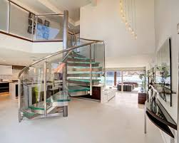 Glass Spiral Staircase Houzz