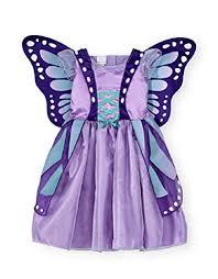 baby u0026 toddler koala kids purple butterfly costume dress gown