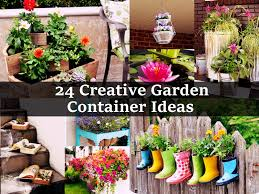24 creative garden container ideas jpg