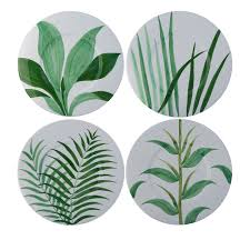 set of 4 natura ceramic plates shop este ceramiche e porcellane