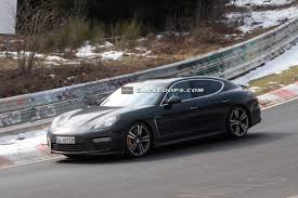 panamera porsche 2014 scoop virtually undisguised 2014 porsche panamera nabbed at the u0027ring