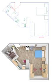3d plans vs 2d plans architectural cgi