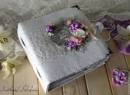 handmade wedding albums buy album photo wedding lace white flowers on livemaster