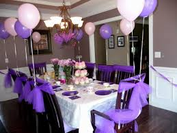 purple party ideas for adults decorating of party
