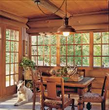 Log Cabin Dining Room Furniture Rustic Log Cabin Renovation In Oregon