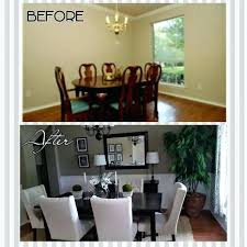 transitional dining room create an open kitchen and dining area