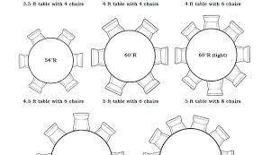 8 person round table size 8 person table dimensions 8 person round dining table dimensions did