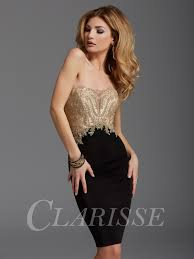 black and gold dress clarisse cocktail dress 2904 promgirl net