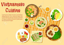 cuisine fr cuisine flat icon with top view of family dinner with