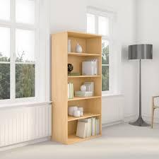 Bush Bookcases Amazon Com Bush Business Furniture 72h 5 Shelf Bookcase In Hansen