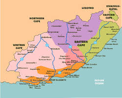 j bay south africa map highlights of a visit to south africa s adventure province