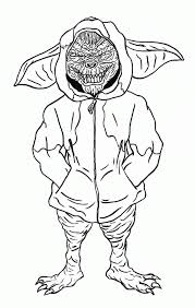 Gremlins Coloring Pages Many Interesting Cliparts 80s Coloring Pages