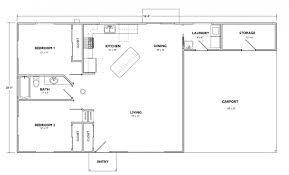 Floor Plans Open Concept by 2 Basic Floor Plan Playuna
