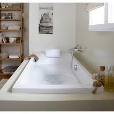 siege baignoire leroy merlin baignoire rectangulaire l 180x l 80 cm blanc sensea premium design