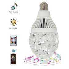 led light bulb speaker bluetooth light bulb speaker led rgb intelligent music party 3 0