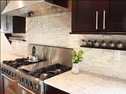 modern kitchen backsplash ideas stacked rock kitchen backsplash in white combined with stainless