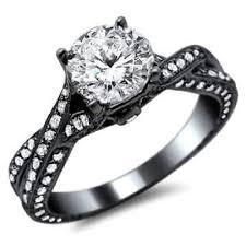 black rings women images Black gold wedding rings for women wedding inspiration jpg