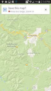 Estes Park Colorado Map Using Google Maps Offline Geeksontour Com