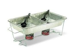 buffet chafer set food warmer chafing dish pan tray stand catering
