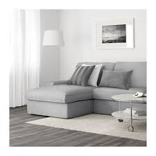 Ikea Three Seater Sofa Bed Kivik Sofa And Chaise Orrsta Light Gray Ikea Ideas For The