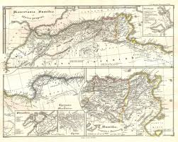 Ancient Map Of Africa by File 1855 Spruneri Map Of North Africa In Ancient Times Carthage