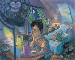 previously unpublished illustrations harry potter book cover