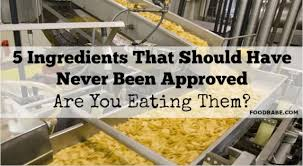 5 Most Shocking Controversies In The Food Industry - 5 ingredients that should have never been approved by the fda are