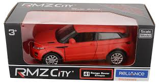 toy range rover buy rmz city die cast range rover evoque matte red 5 inch