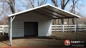 carport boxed eave roof 18 u0027 x 26 u0027 shop metal carports online