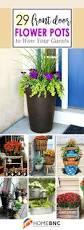 Home Decor Silk Flower Arrangements Front Door Flower Garden Decoration Pots Ideas Pinterest Front