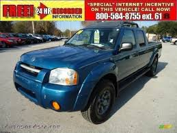 frontier nissan 2004 2004 nissan frontier xe v6 crew cab 4x4 in electric blue metallic